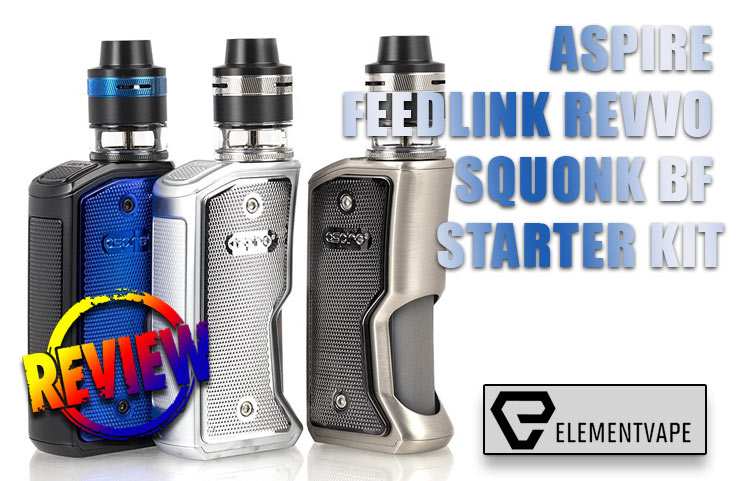 ASPIRE FEEDLINK REVVO SQUONK BF STARTER KIT