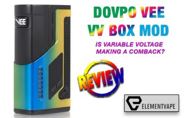 Dovpo VEE Variable Voltage Box Mod Review