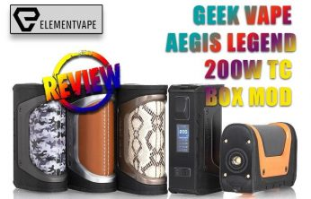 Geek vape Aegis Legend Review