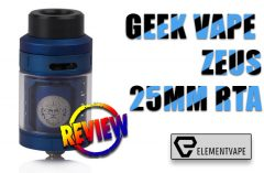 ZEUS 25MM RTA BY GEEK VAPE Review Spinfuel VAPE