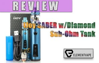 iJoy SABER 100W Vape Pen Starter Kit Review