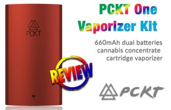 PCKT One Vaporizer Kit for Cannabis Concentrates Review