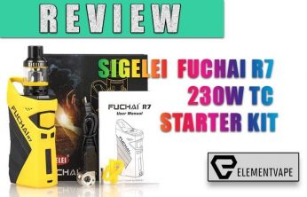 Sigelei Fuchai R7 230W TC Box Mod Review