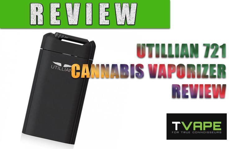 Utillian 721 Dry Herb (Cannabis) Vaporizer Review