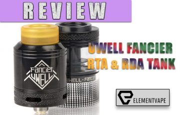 Uwell Fancier RDA/RTA Review
