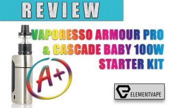 VAPORESSO ARMOUR PRO 100W & CASCADE BABY STARTER KIT