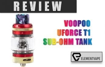 Voopoo UForce T1 Sub-Ohm Tank Review