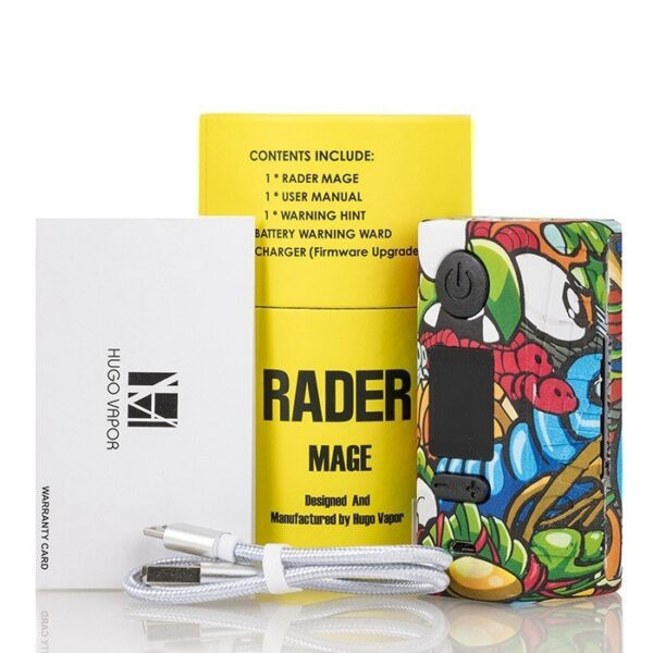 hugo_vapor_rader_mage_gt218_tc_box_mod_packaging_content