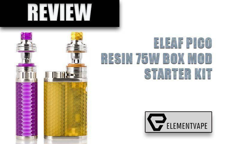 Eleaf iStick Pico RESIN 75W TC Starter Kit
