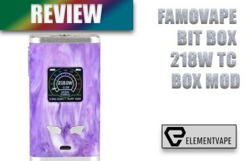 Famovape Bit Box 218W Mod Review