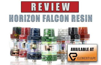 Horizon Falcon Resin Edition Sub-Ohm Tank Review
