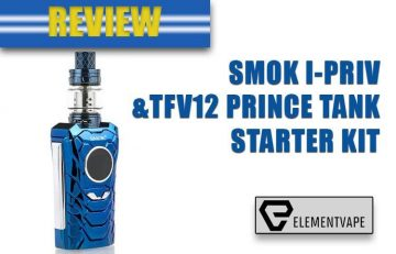 SMOK I-PRIV 230W & TFV12 PRINCE KIT Review by Spinfuel VAPE