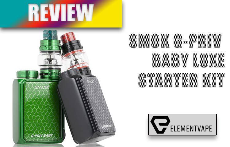 SMOK G-PRIV Baby LUXE 85W Starter Kit Review BY SPINFUEL VAPE