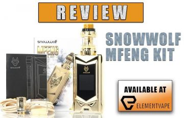 Sigelei Snowwolf MFENG Mod Kit Review