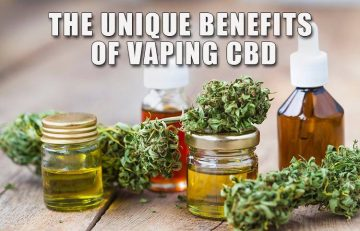 The Unique Benefits of Vaping CBD