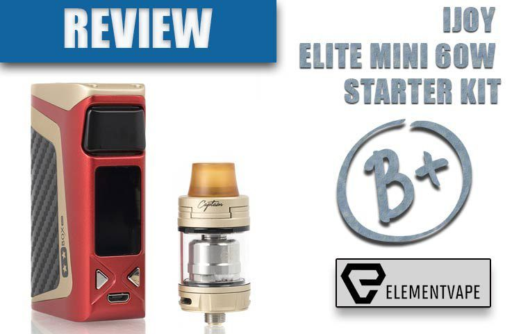 IJOY ELITE MINI 60W STARTER KIT Review by Spinfuel VAPE