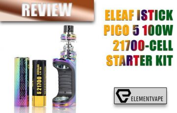 Eleaf iStick Pico S and ELLO Tank Kit Review