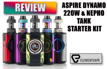 Aspire Dynamo 220W & NEPHO Tank Starter Kit Review