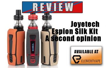 Joyetech Espion Silk Kit Review – A second opinion