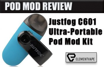 JUSTFOG C601 Ultra-Portable Pod Mod Review