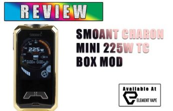 Smoant Charon Mini Review Spinfuel VAPE