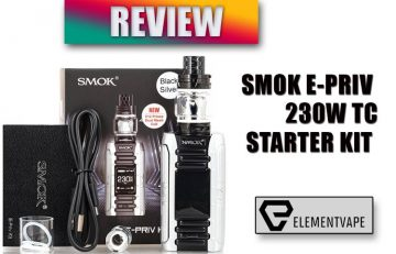 SMOK E-PRIV 230W TC Starter Kit Review