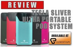 REVIEW - TESLA SLIVER ULTRA PORTABLE POD SYSTEM