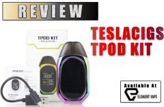 Teslacigs TPOD Pod Mod Review by Spinfuel VAPE