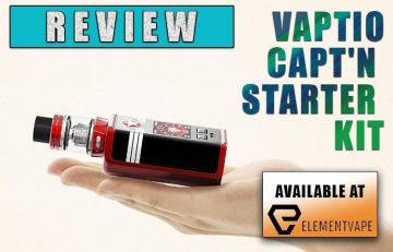 Vaptio Capt'n Kit Review by Spinfuel VAPE