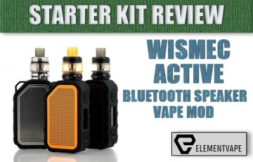 Wismec Active Kit Review Bluetooth-Enabled, Music-Playing Mod