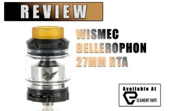 Wismec Bellerophon RTA Review