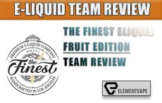The Finest Eliquid Fruit Edition Review by the Spinfuel VAPE Eliquid Review Team