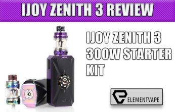 iJoy ZENITH 3 Variable Voltage Starter Kit Review – Spinfuel Vape