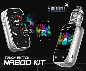 SMOANT Electronic Cigarettes and Vape Gear