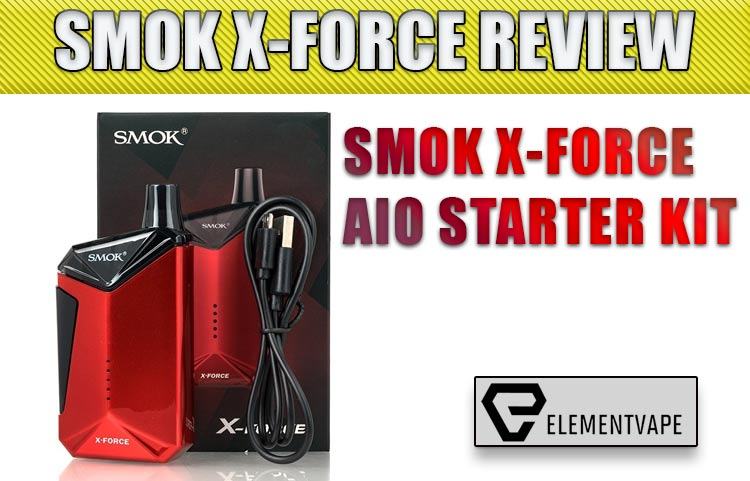 SMOK X-FORCE AIO STARTER KIT REVIEW by SPINFUEL VAPE