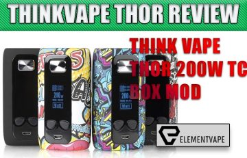 ThinkVape Thor 200W Box Mod Review Spinfuel VAPE
