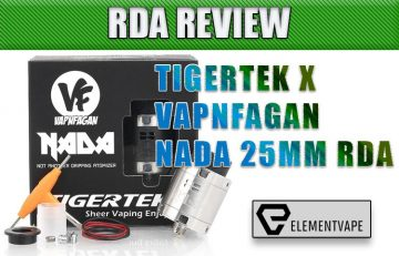 TIGERTEK X VAPNFAGAN NADA RDA Review