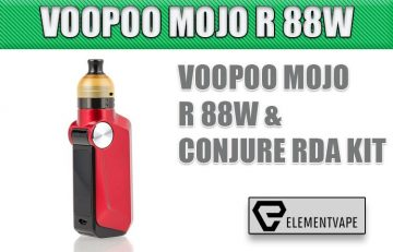 Voopoo Mojo R 88W Mod & CONJURE RDA Kit Review