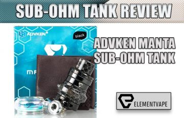 ADVKEN MANTA SUB-OHM TANK REVIEW by spinfuel vape