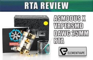 asMODus Dawg 25mm RTA Review BY SPINFUEL VAPE