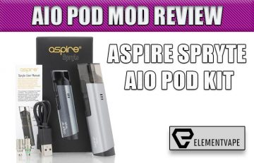 Aspire Spryte AIO Mod Kit Review