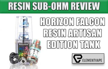 Horizon Falcon Resin ARTISAN Edition Tank Review