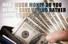 Vaping vs Smoking - How much do you save