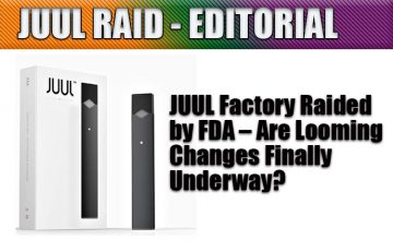 JUUL RAID by FDA