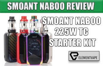 SMOANT NABOO 225W TC STARTER KIT REVIEW