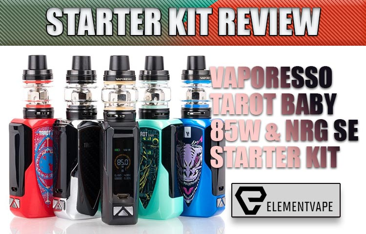Vaporesso Tarot Baby 85W TC Starter Kit Review