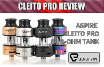 Aspire Cleito Pro Sub-Ohm Tank Review