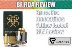 Bruce Pro Innovations Yellow Jacket RDA Review BY SPINFUEL VAPE