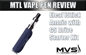 Eleaf iStick Amnis MTL Kit Review by Spinfuel VAPE