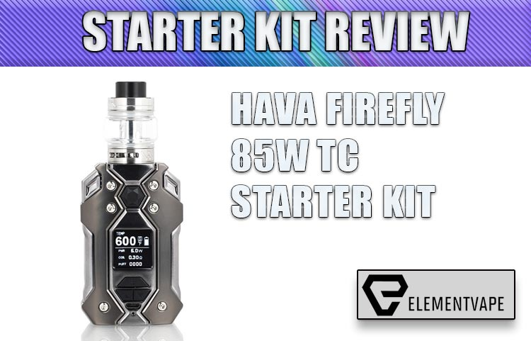 Hava Firefly 85W TC Starter Kit Review by Spinfuel VAPE